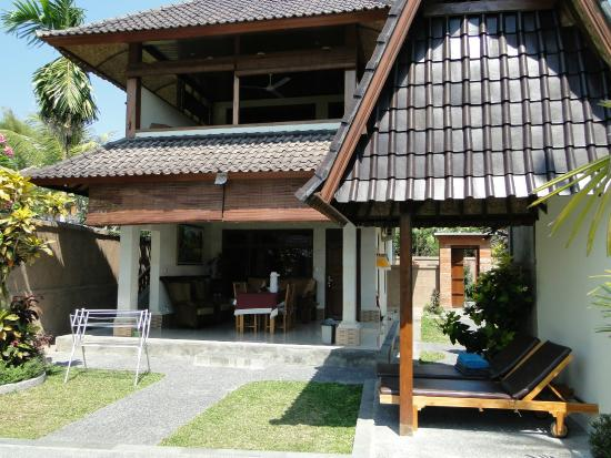 Bali Breeze Bungalows: Blick vom Garten