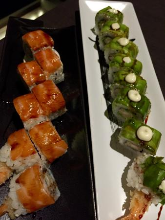 Youki Japanese Restaurant: Tiger roll e Youki roll , buonissimi!