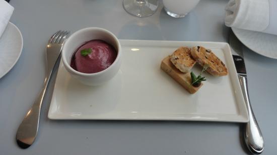 L'Atelier de Marc Meurin : mousse de figue et foie gras