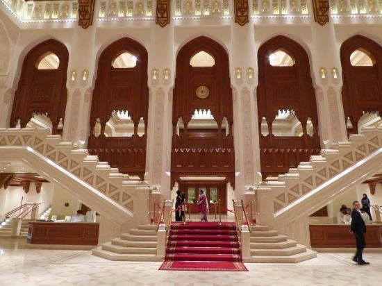 Western Foyer Box Office Opera House : Outside the roh picture of royal opera house muscat