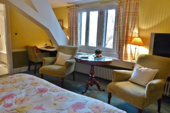 Kronenschlösschen Hotel & Restaurant: Kleine romantische Zimmer