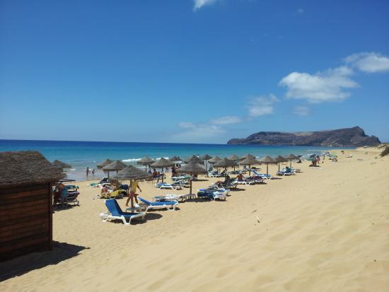 Vila Baleira Porto Santo: Praia