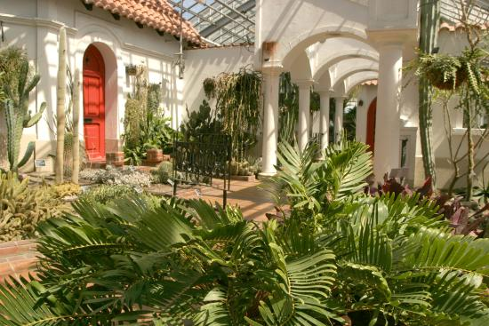 Montreal Botanical Gardens: Hacienda, one of 10 greenhouses