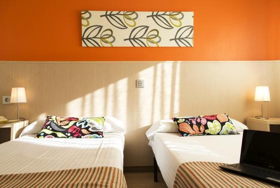 La Basílica: habitación doble- 2 camas
