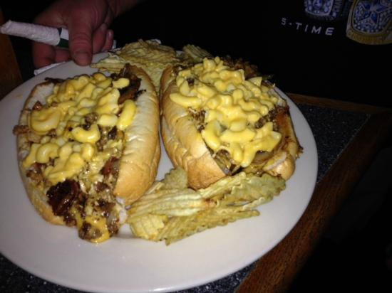 Footers Sports Pub Philly Cheese Steak Reggie Style
