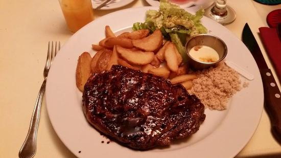 Armazem 22: Ribeye steak