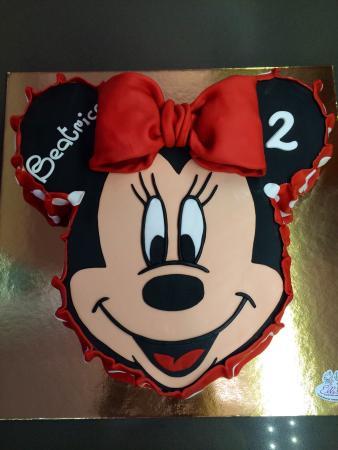 Torta Faccia Minnie 3d Picture Of Elle Italian Bakery Di Laura