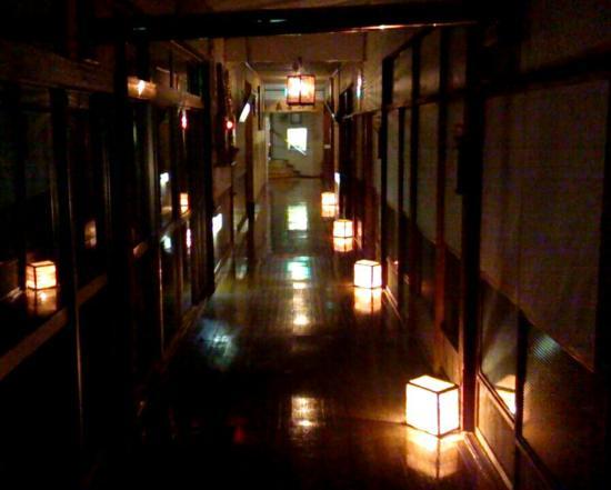 Samurai no yu Obonai: 廊下
