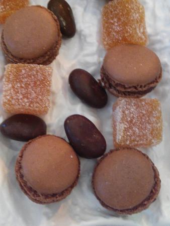 Auberge de Port-Vallières : Avec le dessert....