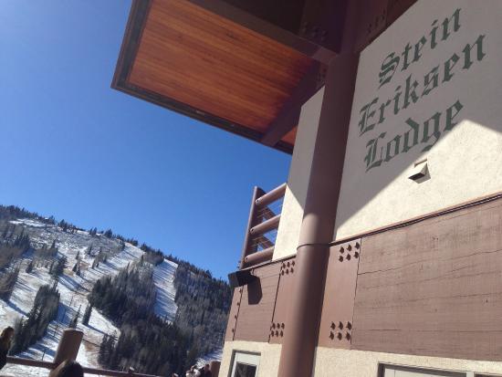 The Glitretind Restaurant: The Lodge