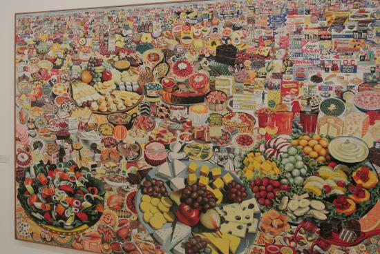 Museum of Contemporary Art: Just one of the hundreds of great paintings
