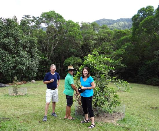 Forest Creek, Australie : Getting a tour of the gardens