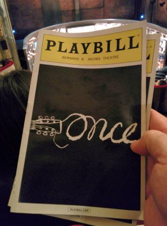Once - A New Musical: Once musical