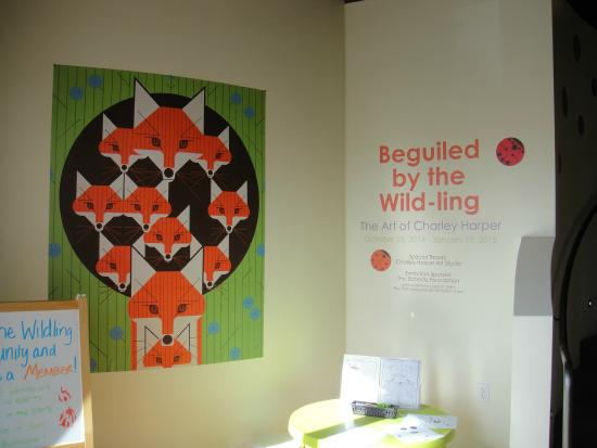 Wildling Art Museum: Art of Charley Harper on 2nd floor