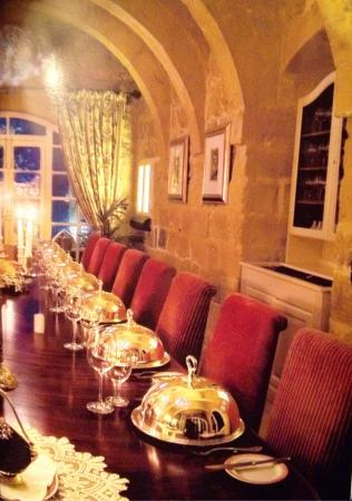 Ta' Frenc Restaurant: Big table