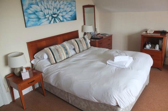 Randolph Hotel: nice comfy bed