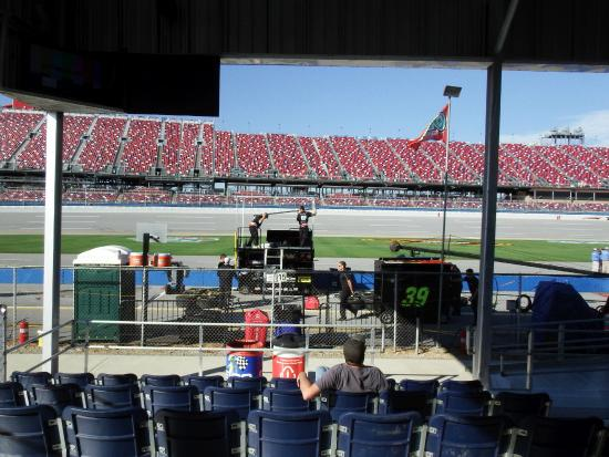 My Seating View Picture Of Talladega Superspeedway Tripadvisor