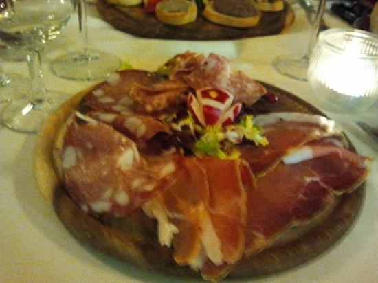 Ristorante Vecchia Firenze: antipasto di salumi