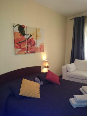 La Stella di Roma B&B: Pokój w którym spały nasze córki