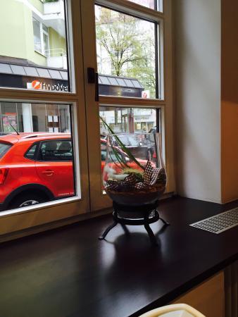 Hotel am Viktualienmarkt: Вид из столовой!