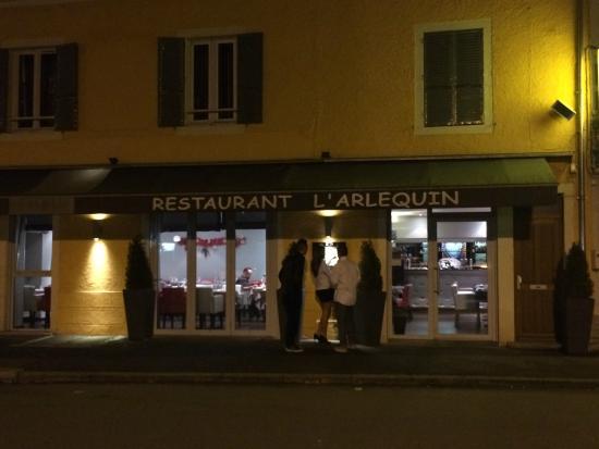 L'Arlequin : Entrée du restaurant