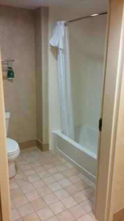 Homewood Suites by Hilton York : Bathroom at the Holmewood Suites