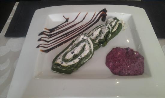 Restaurante El Aguador Nervión : Pastel de espinacas