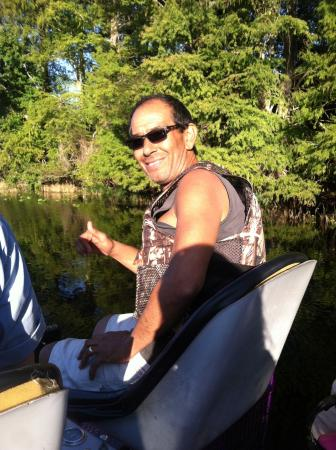 Alligator Cove Airboat Nature Tours : Amazing trip at Alligator Cove with Capt. Darold!
