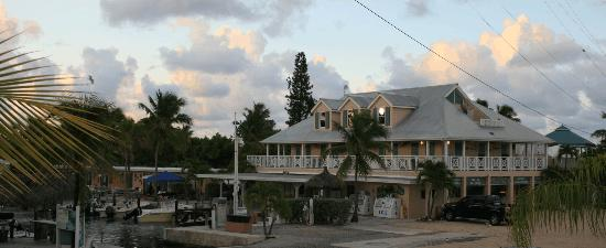 Big Pine Key Fishing Lodge : BPKFL office and canal