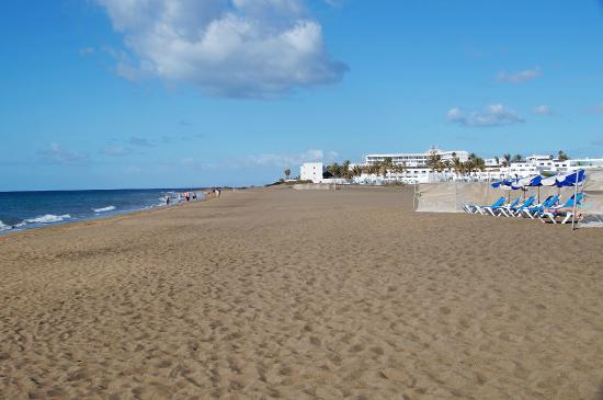 Las Costas: Hotel & Strand Playa de los Pocillos