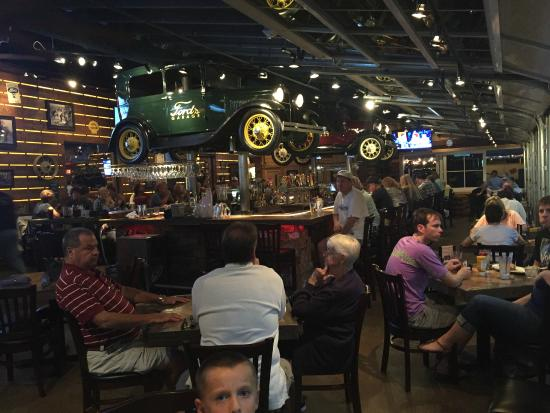Foto de ford 39 s garage cape coral ford 39 s garage black and bleu burger with baked beans and - Ford garage restaurant cape coral ...
