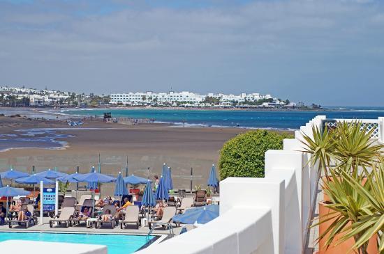 Las Costas: Aussicht von der Hotel-Terrasse