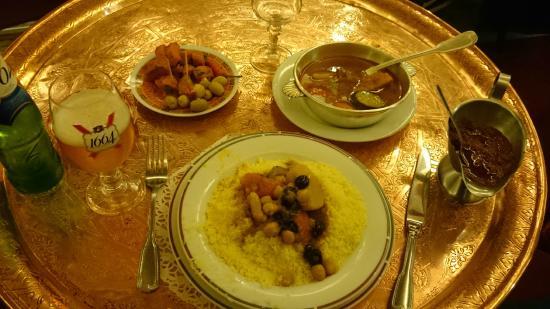Restaurant Le Maroc : Vegetable couscous