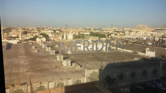 Le Meridien Jeddah: View of the mall, seen from my hotel room window.