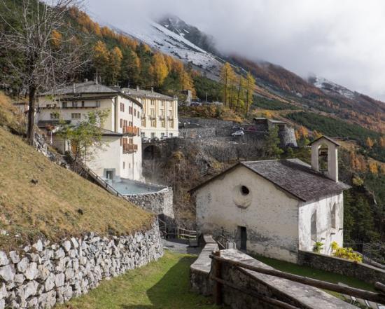Panorama Dalla Piscina All Aperto Foto Di Bagni Vecchi