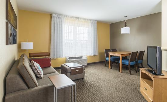 TownePlace Suites Phoenix North: Stay in our One-Bedroom Suite for extra room and watch TV with premium cable on the sofa bed.