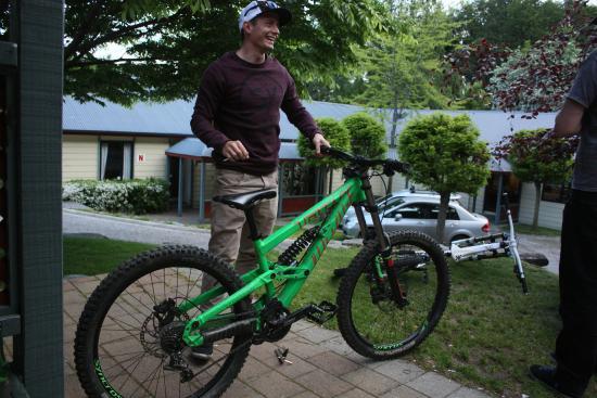 Pinewood Lodge: Rental bike was sweet