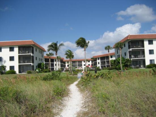 Sandalfoot Condominium: Sandalfoot from the beach