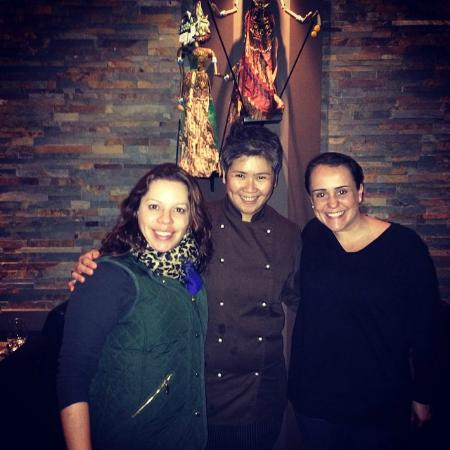Dapur Indonesia: Nós e a chef Diane Bucher-Maweikere