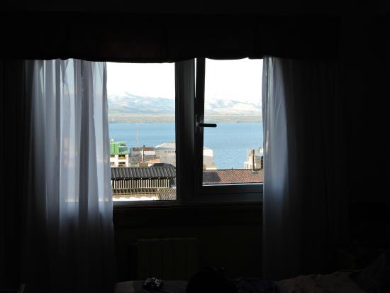 Hotel Patagonia Sur: Miren que bonita vista!