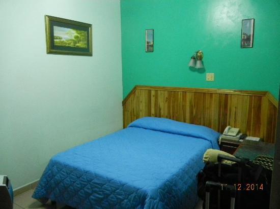 Hotel Alcala : Bed
