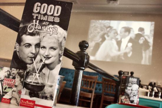 Harry Ramsden's atmosphere!