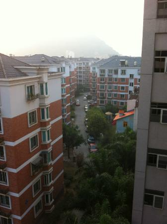 Fu'an, Chiny: 部屋からの眺め