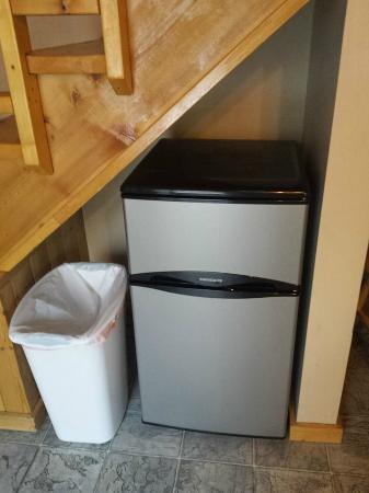 Tok, AK: Mini fridge/freezer. Also had microwave and coffee pot