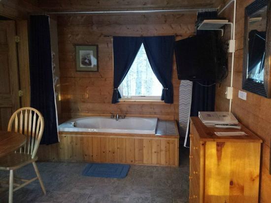 Tok, AK: Jacuzzi style tub