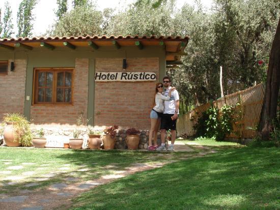 Cerro Del Valle Hotel Rustico: Ingreso al hotel