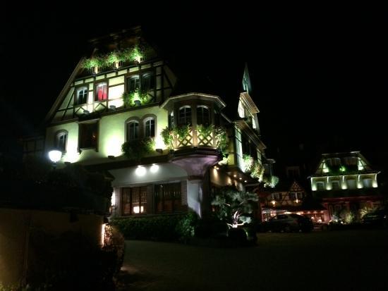 Le Parc Hotel Restaurant & Spa: Visgta noturna 2