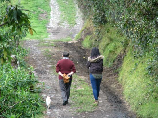 Tambillo, Ecuador: Caminata.