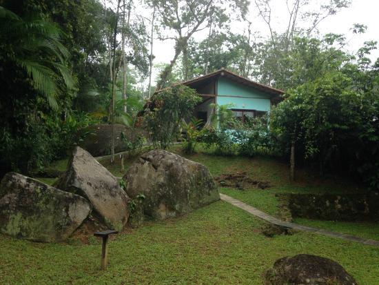 Mystica Eco Chales & Pousada: vista do chalé
