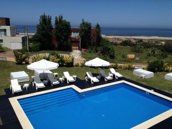 Las Olas Resort Hotel Punta Del Este: Vista da varanda do Las Olas